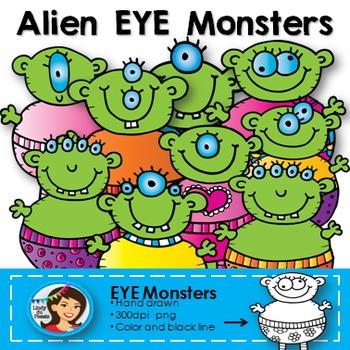 Alien EYE Monster