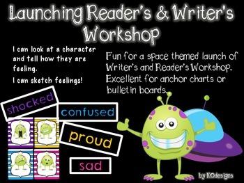 Alien Emotion Cards for Launching Reader's & Writer's Workshop