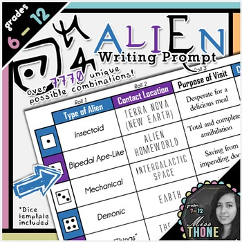 Alien Encounter Writing Prompt