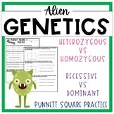 Alien Genetics (Punnett Squares)