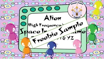 Alien High Frequency / Dolch Sight Word Cards  (Reception Words)