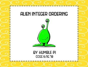 Alien Integer Ordering-6.NS.7b
