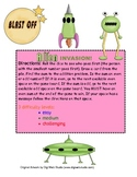 Alien Invasion! Practice addition facts and sort sums by odd/even