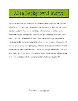 Alien Math Game-Subtraction Edition CCSS Aligned