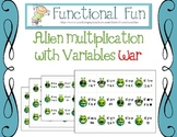 Alien Multiplication With Variables War