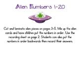 Alien Numbers 1-20
