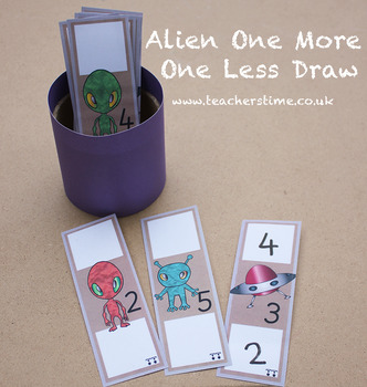 Alien One More One Less Draw