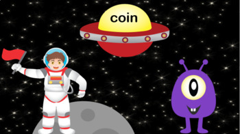 Alien Phonics Game