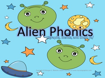 Alien Phonics- Short A Word Families