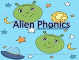 Alien Phonics for Short U Word Families