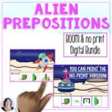 Alien Prepositions Boom and No Print Digital Bundle