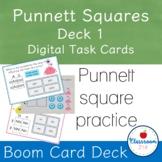 Alien Punnett Square Practice Digital Task Cards
