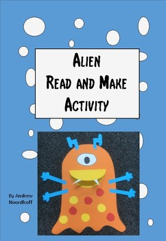 Space - Alien Read and Make Activity