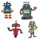 Alien & Robot Clipart