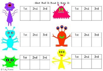 Alien Roll It Read It (Phases 2-5)
