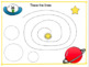 Alien Space Themed Line Tracers shapes Fine Motor
