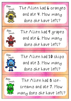 Alien Subtraction Smash
