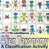 Alien Taxonomy - A Classification Card Sort Activity