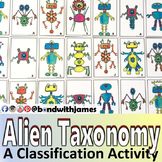 Alien Taxonomy - A Classification Card Sort Activity