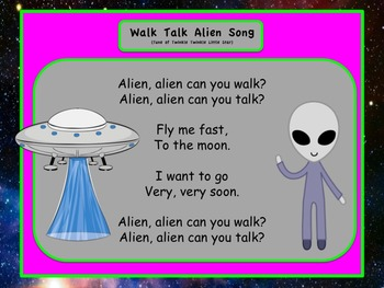 Alien Thematic Literacy and Math Unit PRINT & GO and SO MUCH MORE!!!