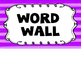 Alien Theme Word Wall #2