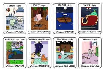 Alien Themed Mathematics Card Game!