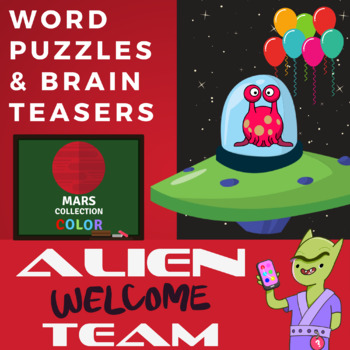 Bell Ringers for Middle School: Fun Logic Puzzles, Alien Welcome Team (Mars)