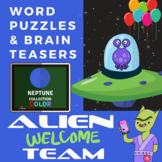 Word Puzzle Brain Teasers - Advanced Level Color Worksheets