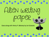 Alien Writing Page
