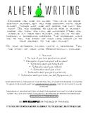 Alien Writing (Push & Pull Factors)