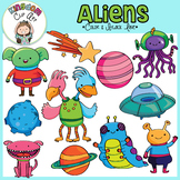 Alien and Outer Space Clip Art