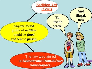 Alien and Sedition Acts and XYZ Affair PowerPoint Presentation
