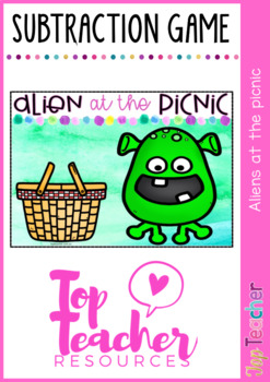 Alien at the picnic - an introduction to subtraction