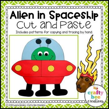 Alien Craft {Alien in Spaceship}
