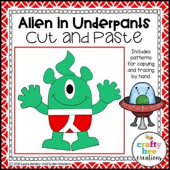 Alien Craft {Alien in Underpants}