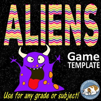 Aliens Bomb Game Template