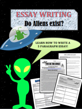 Aliens! Do they exist?  Reading and writing assignment.