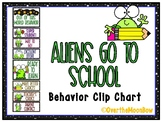 Aliens Go to School | Behavior Clip Chart