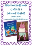 Aliens Love Underpants Craftivity!