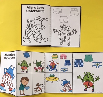 Aliens Love Underpants Printable