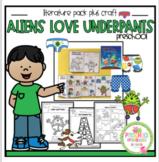Aliens Love Underpants Printable