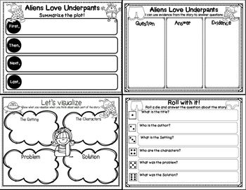 Aliens Love Underpants (Story Companion)