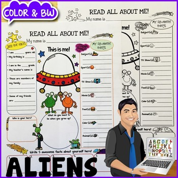 Aliens All About Me Poster