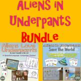 Aliens and Underpants Speech/Language Book Companion Combo