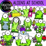 Aliens at School Clipart {Creative Clips Clipart}