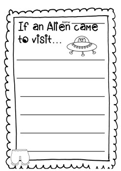 Aliens Love Underpants Book Study
