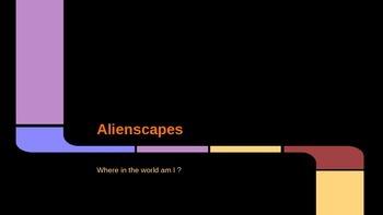 Alienscapes art powerpoint