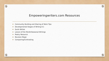 Align Reading & Writing - Based on Empowering Writers Training