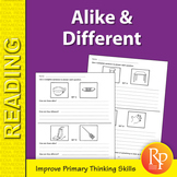Alike & Different: Primary Thinking Skills