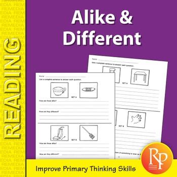 Alike & Different: Primary Thinking Skills